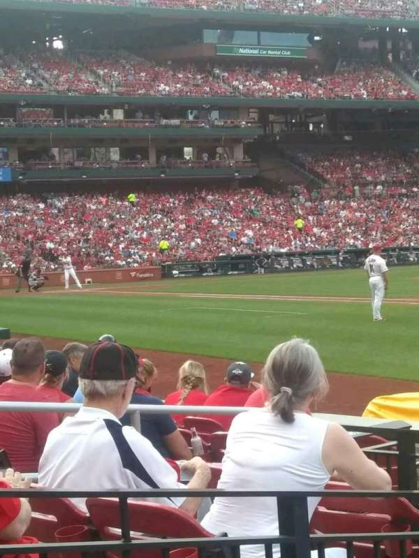 Busch Stadium, section: 139D, row: H, seat: 1and2