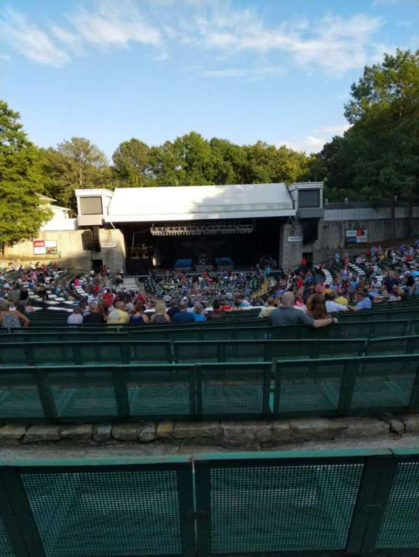Cadence Bank Amphitheatre, section: Orch-C, row: U, seat: 40