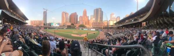 BB&T Ballpark (Charlotte), section: 112, row: P, seat: 1