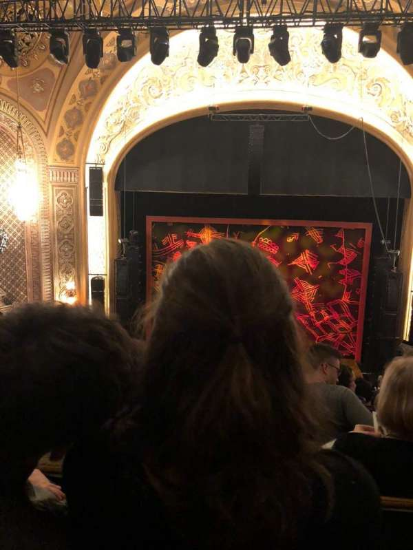 Paramount Theatre (Seattle), section: Mezzanine 13, row: H, seat: 8