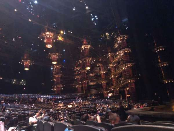 KÀ Theatre - MGM Grand, section: 104, row: E, seat: 13