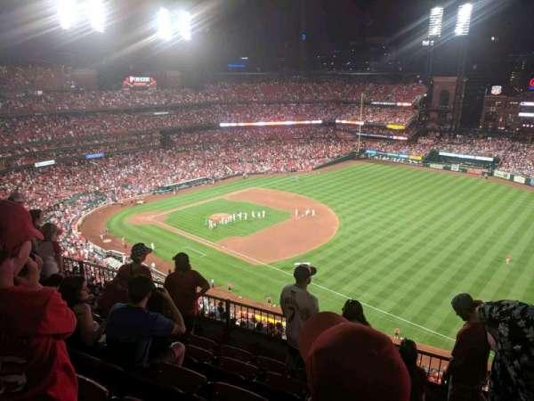 Busch Stadium, section: 437