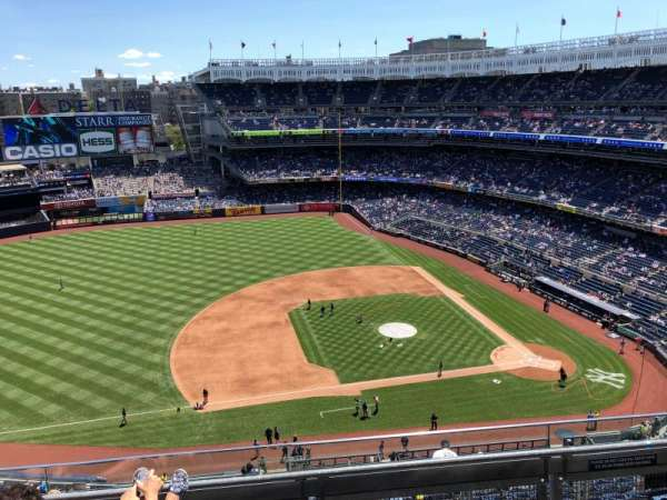 Yankee Stadium, section: 425, row: 4, seat: 13