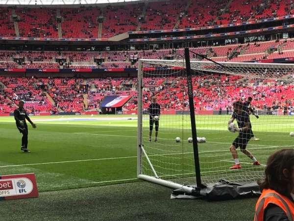 Wembley Stadium, section: 115, row: 3, seat: 121