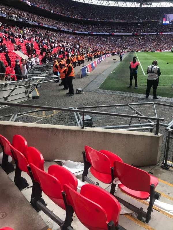 Wembley Stadium, section: 115, row: 3, seat: 120-123