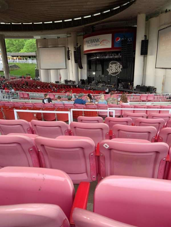 PNC Bank Arts Center, section: 402, row: F, seat: 18-20
