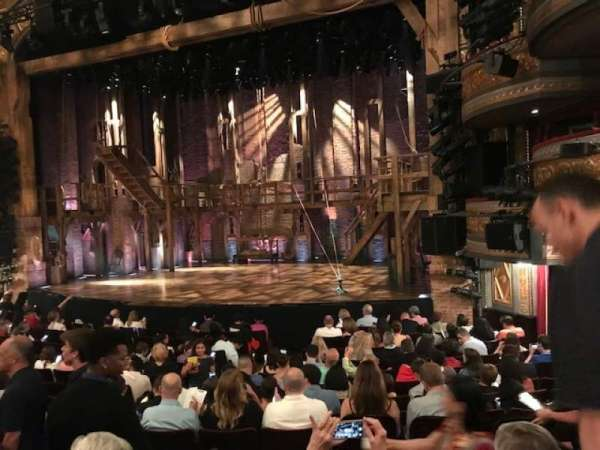 Richard Rodgers Theatre, section: Orchestra R, row: N, seat: 16