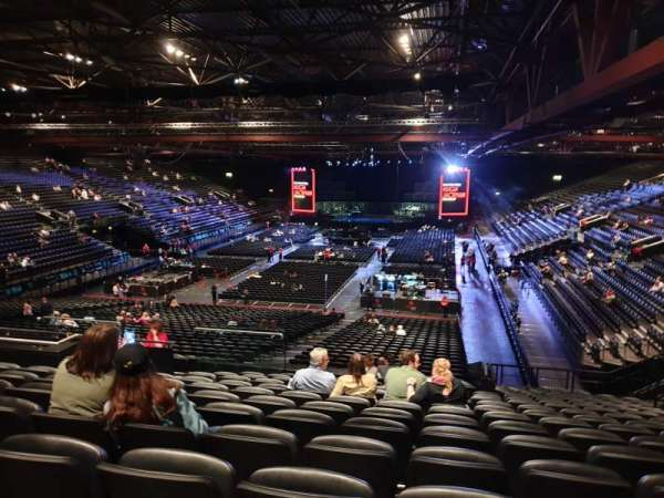 Resorts World Arena, section: 8, row: ZA, seat: 242