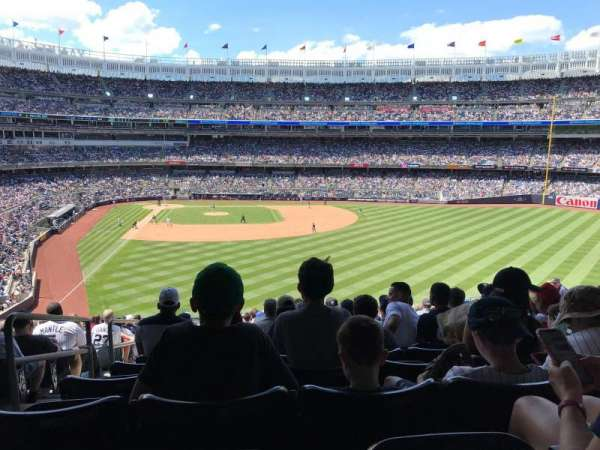 Yankee Stadium, section: 205, row: 19, seat: 31