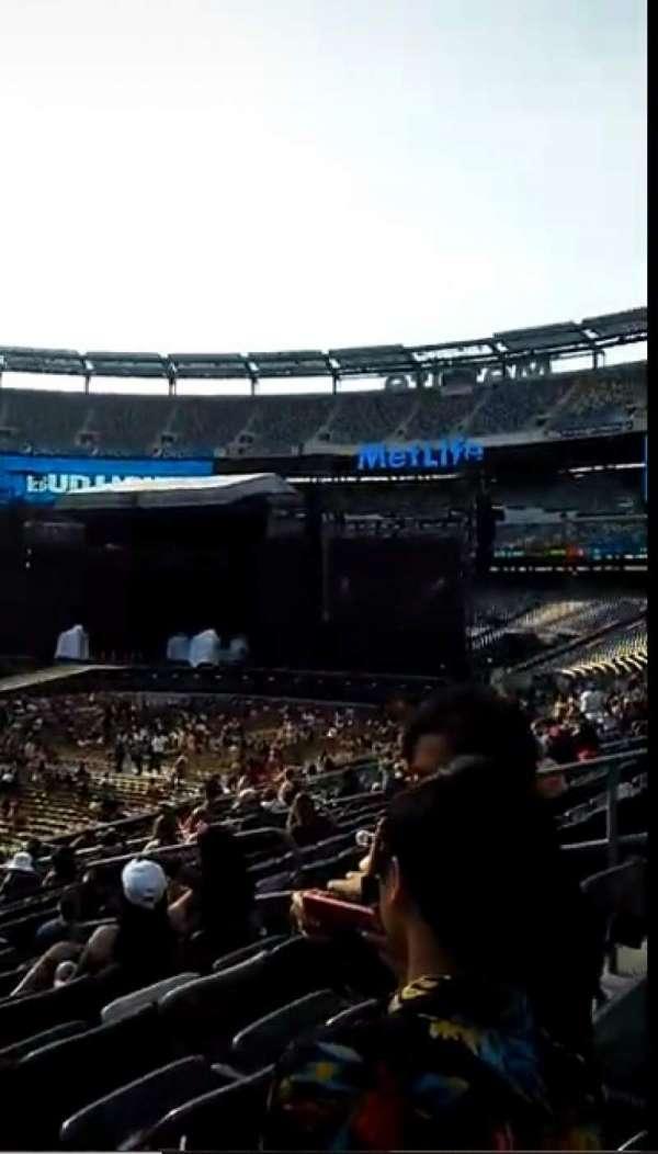 MetLife Stadium, section: 116, row: 25, seat: 8