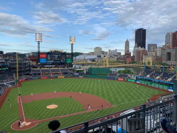 PNC Park, section: 312, row: E, seat: 5