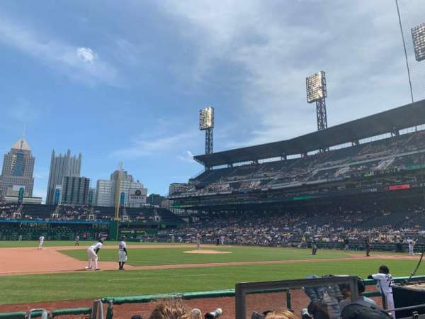 PNC Park, section: 24, row: H, seat: 5