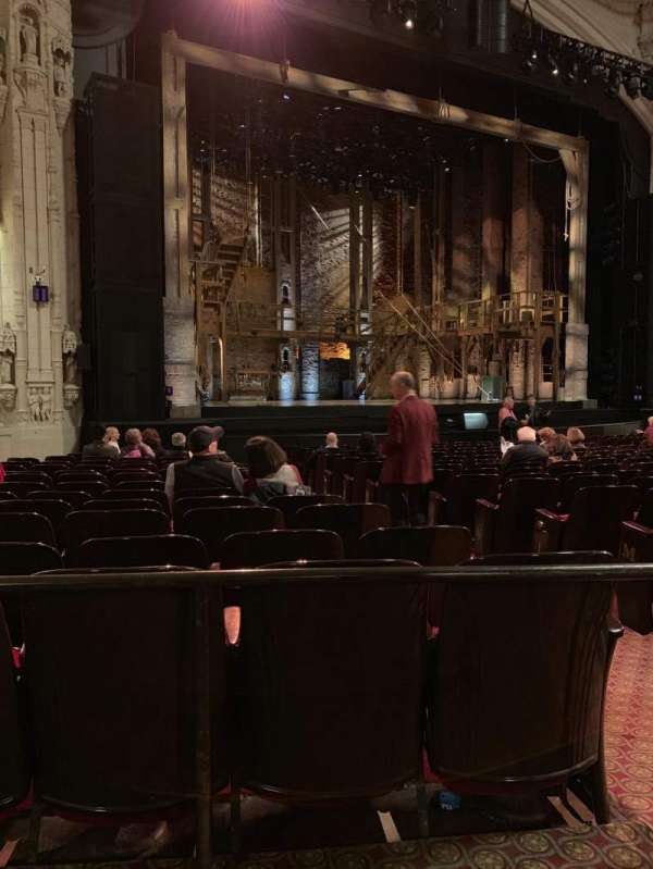 Orpheum Theatre (San Francisco), section: Orchestra L, row: R, seat: 5