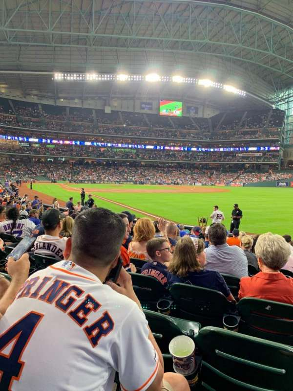 Minute Maid Park, section: 133, row: 15, seat: 13