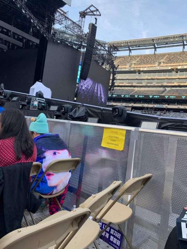 MetLife Stadium, section: Floor 4, row: 19, seat: 4/5