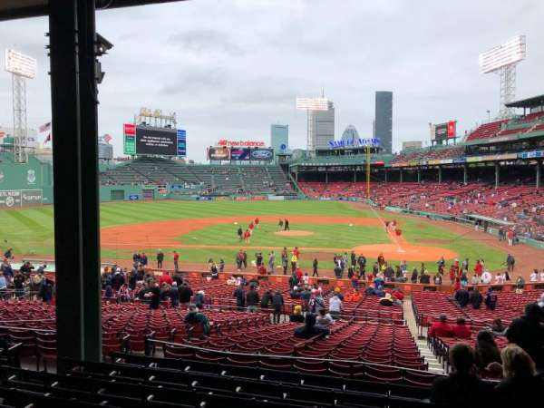 Fenway Park, section: Grandstand 24, row: 8, seat: 23