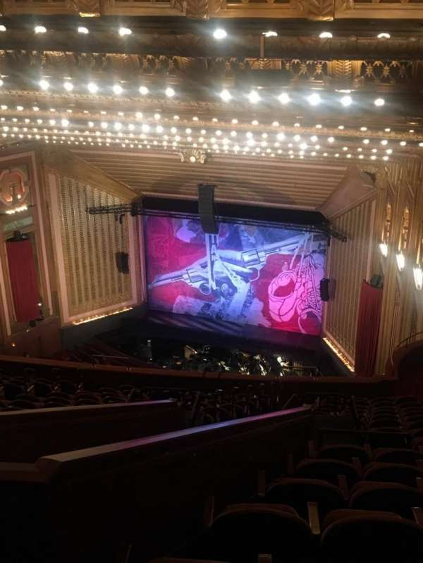 Lyric Opera House, section: Upper Balcony, row: Q, seat: 47