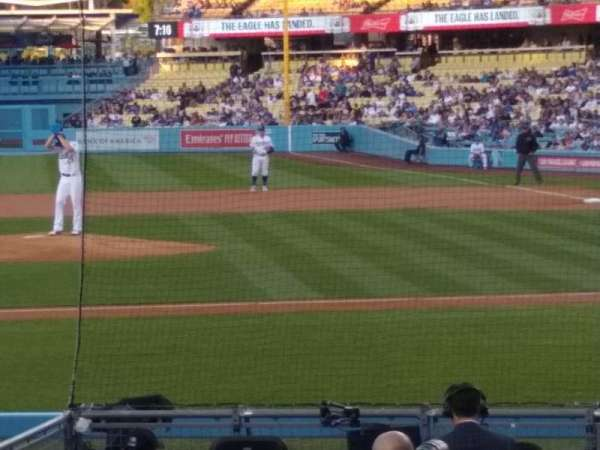 Dodger Stadium, section: 15FD, row: G, seat: 6