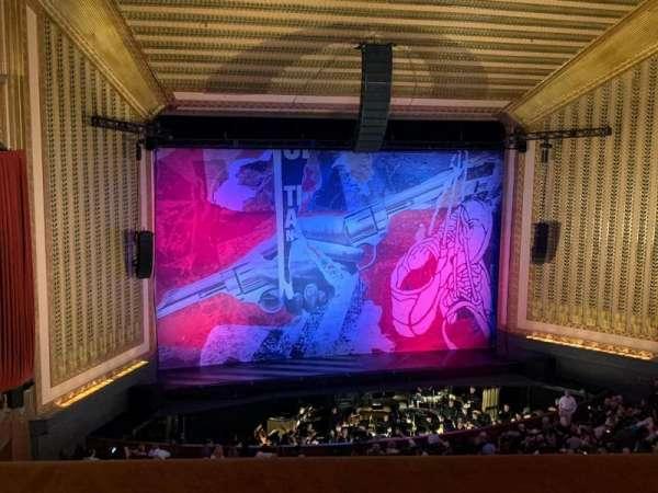 Lyric Opera House, section: Dress Circle, row: A, seat: 22