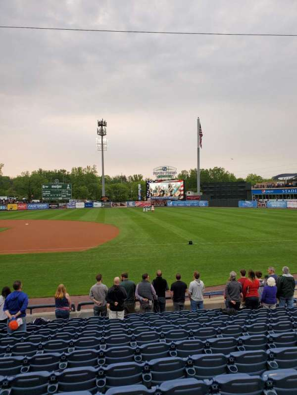 Fifth Third Ballpark, section: 110, row: 10, seat: 13