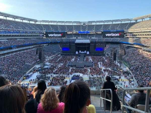 MetLife Stadium, section: 226, row: 8, seat: 1