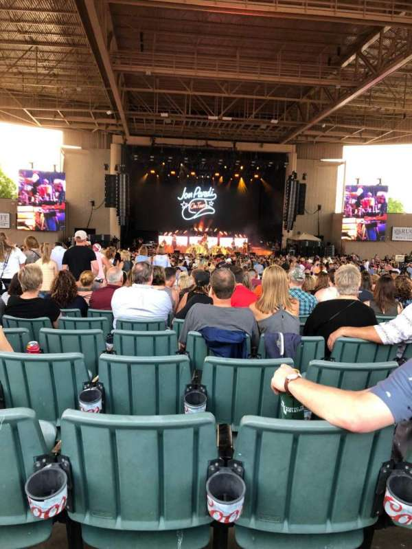 Ruoff Home Mortgage Music Center, section: F, row: V, seat: 6