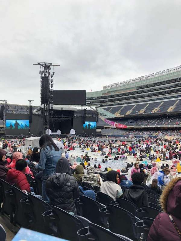 Soldier Field, section: 131, row: 13, seat: 12