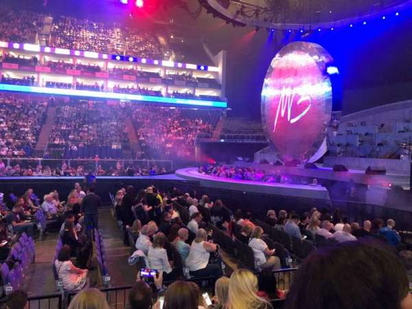 The O2 Arena, section: 112, row: F, seat: 369
