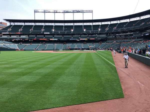 Oriole Park at Camden Yards, section: 76, row: 1, seat: 7