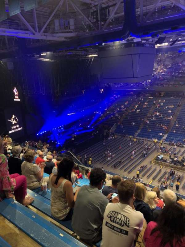 Rupp Arena, section: 230, row: U, seat: 3