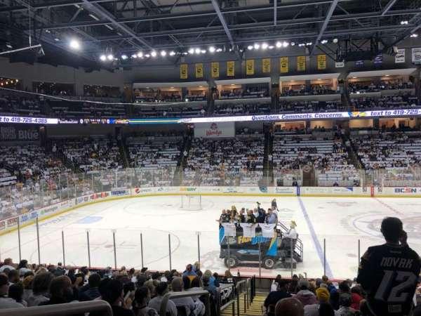 Huntington Center, section: 119, row: S, seat: 18