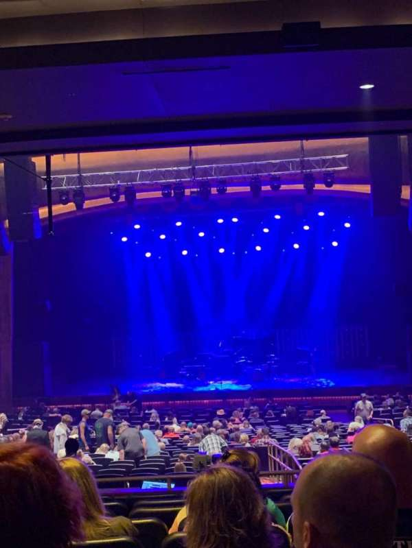 The Grand Theater at Foxwoods, section: PRTCTR, row: NN, seat: 116