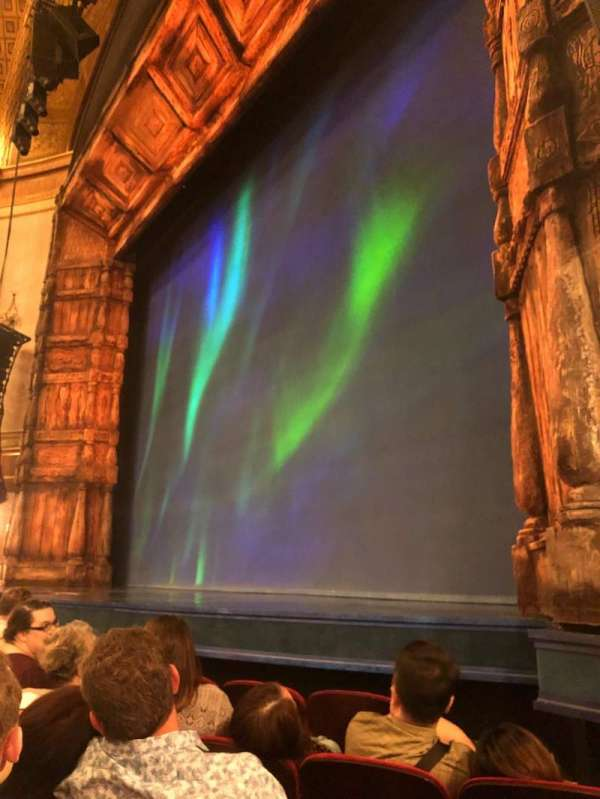 St. James Theatre, section: Orchestra R, row: D, seat: 16
