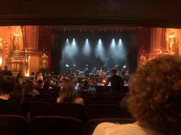 Beacon Theatre, section: Orch, row: V, seat: 108
