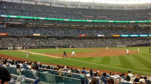 Yankee Stadium, section: 111, row: 14, seat: 13