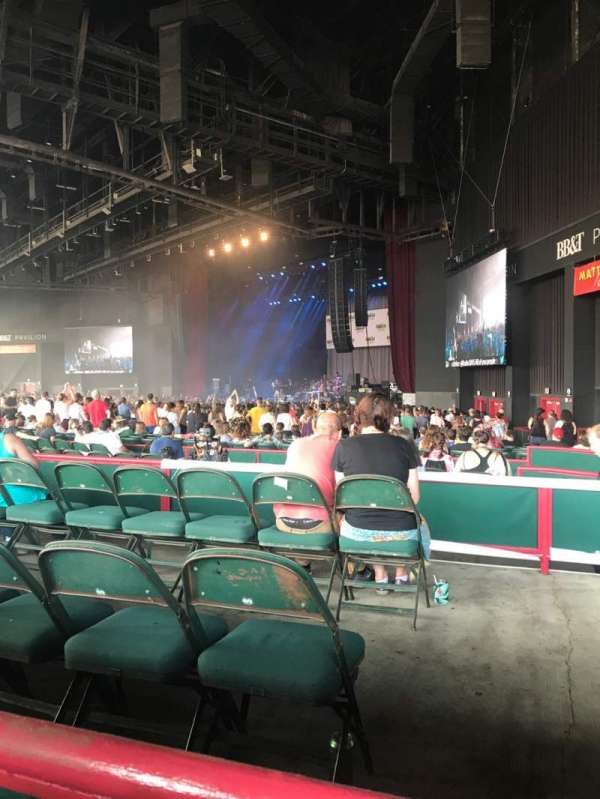 BB&T Pavilion, section: 200, row: C, seat: 11