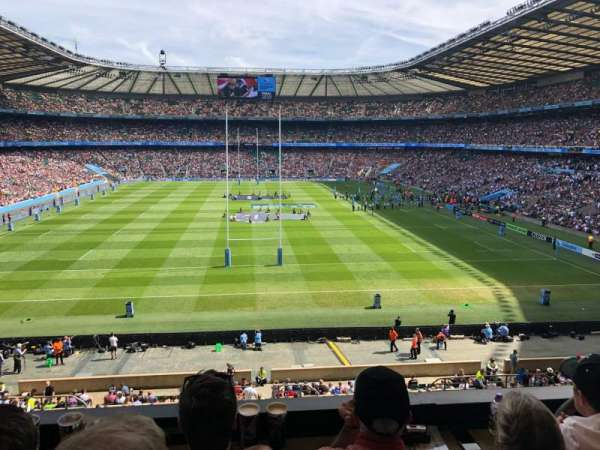 Twickenham Stadium, section: M20, row: 53, seat: 133