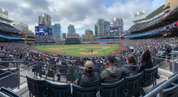 PETCO Park, section: E, row: 3, seat: 6