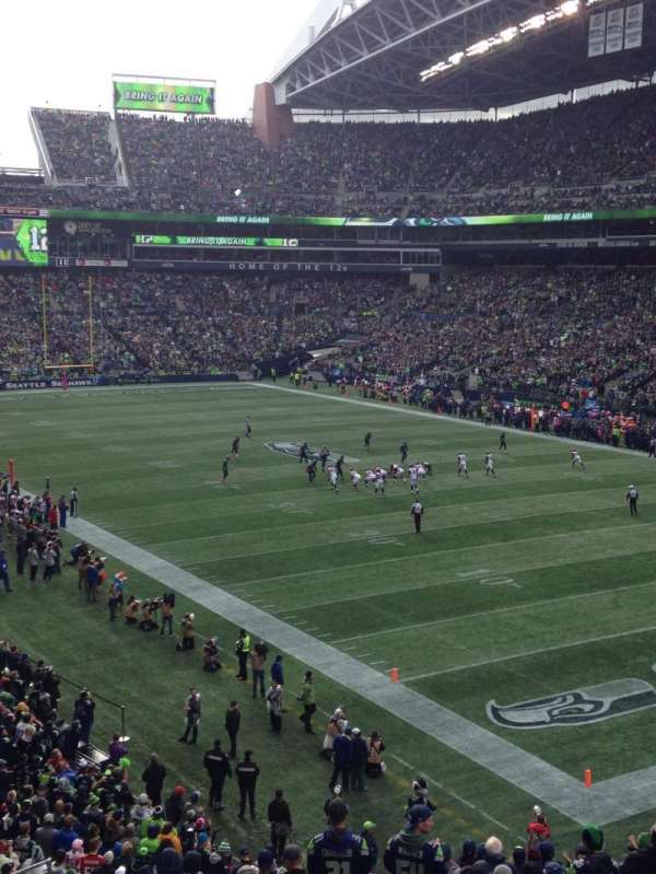 CenturyLink Field, section: 101, row: U, seat: 1