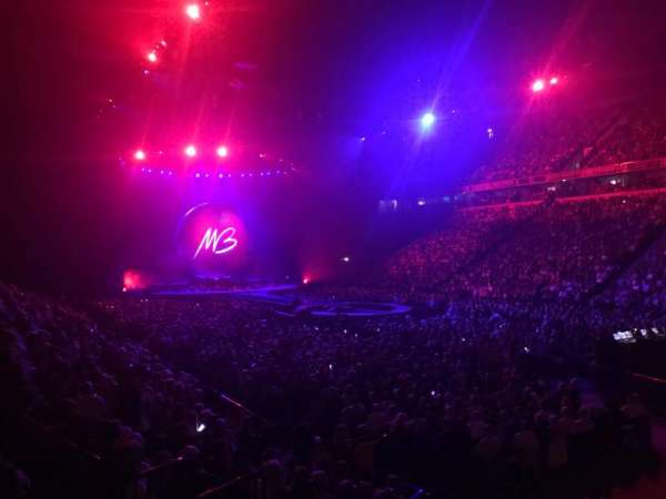 Manchester Arena, section: 106, row: K, seat: 1