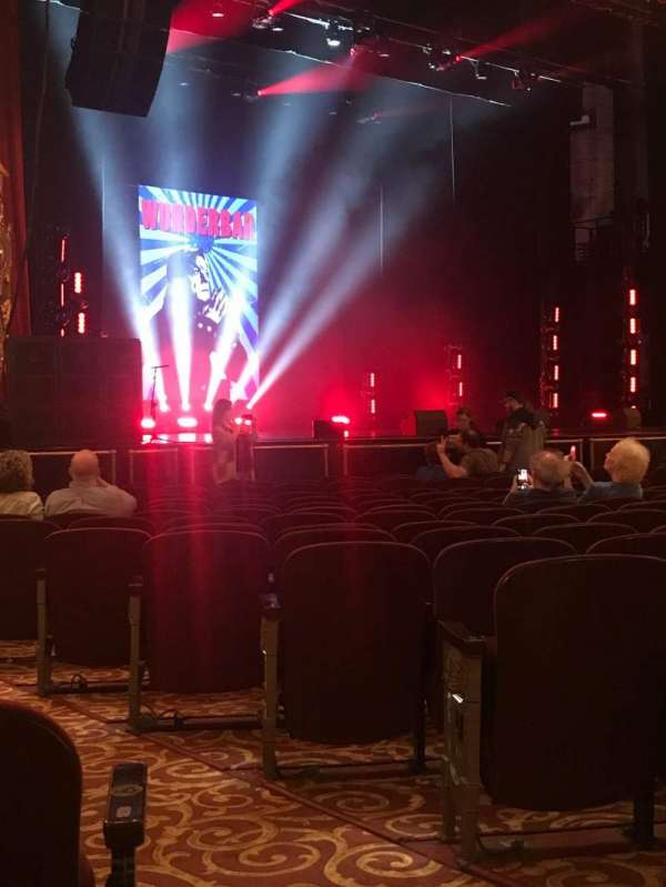 Beacon Theatre, section: Orchestra 3, row: L, seat: 29