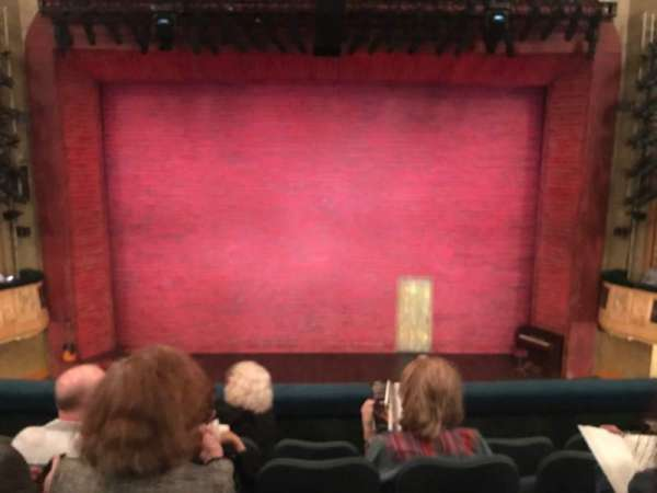 Shubert Theatre, section: Mezzanine C, row: E, seat: 108