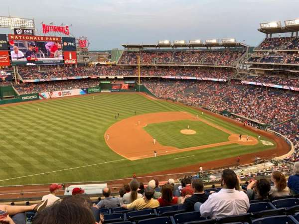 Nationals Park, section: 306, row: J, seat: 13