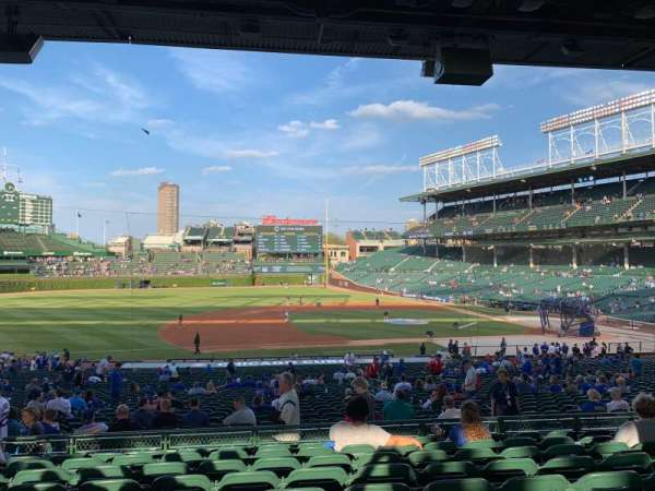 Wrigley Field, section: 210, row: 9, seat: 11
