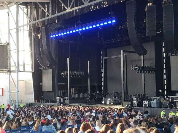 Budweiser Stage, section: 305, row: A, seat: 25
