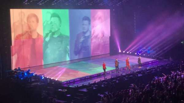 The SSE Hydro, section: 204, row: C, seat: 64