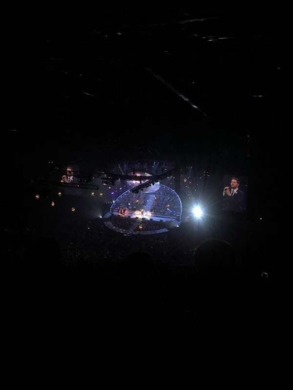 First Direct Arena, section: 329, row: V, seat: 26