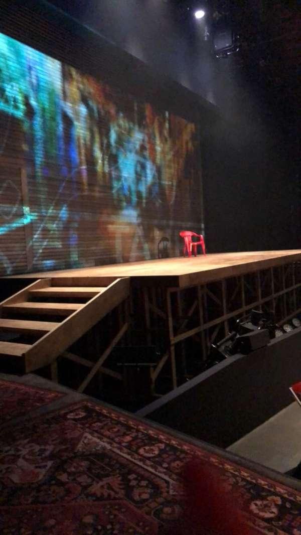 Loeb Drama Center, section: House Left, row: L1, seat: 5