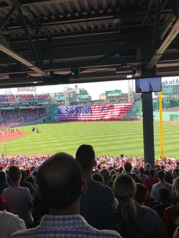 Fenway Park, section: Grandstand 8, row: 12, seat: 18