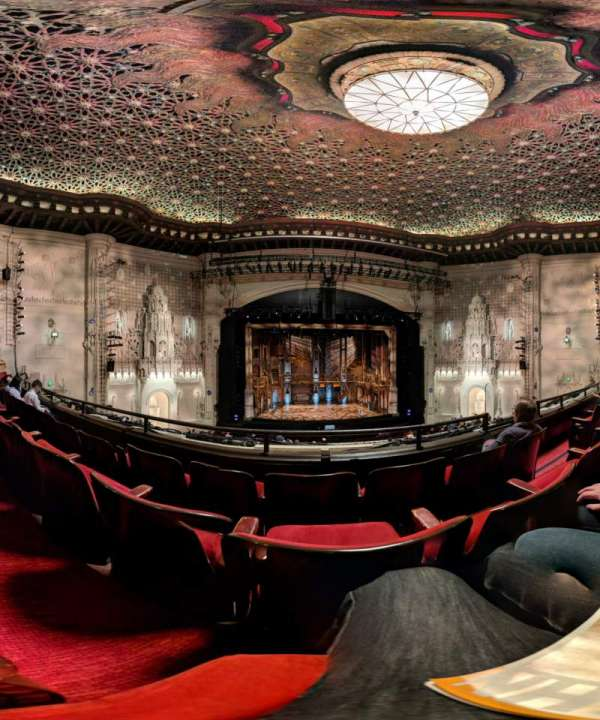 Orpheum Theatre (San Francisco), section: Loge LC, row: C, seat: 107
